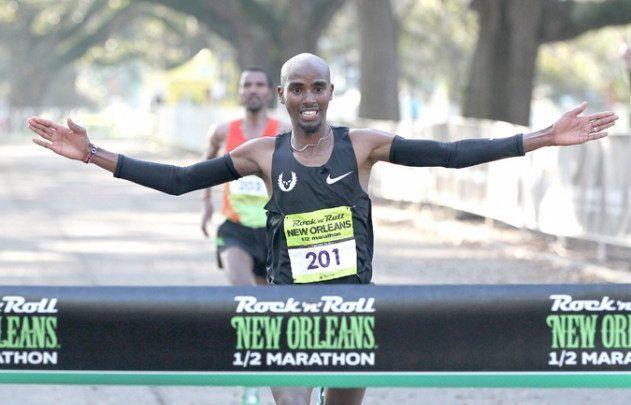 Mo Farah se impone en la media maratón de Nueva Orleans