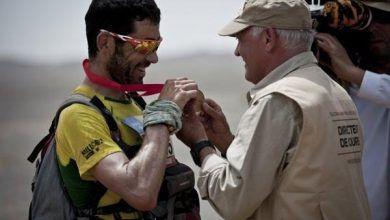 Miquel Capo 3º en el Marathon des Sables