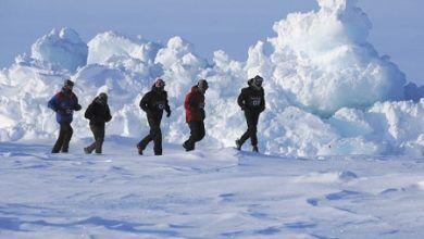 Correr en el Polo Terrestre