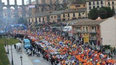 Medio maratón de Segovia