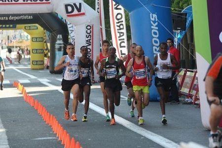 Medio maratón de san Sebastian