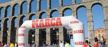 la Sanitas MARCA Running Series de Segovia