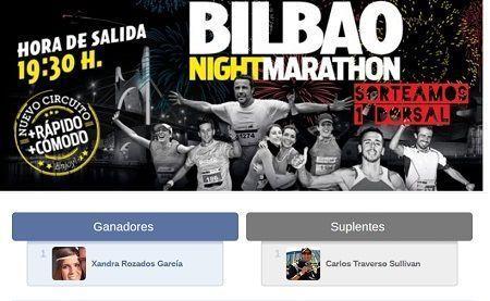 Sorteo Bilbao Nigth Maraton