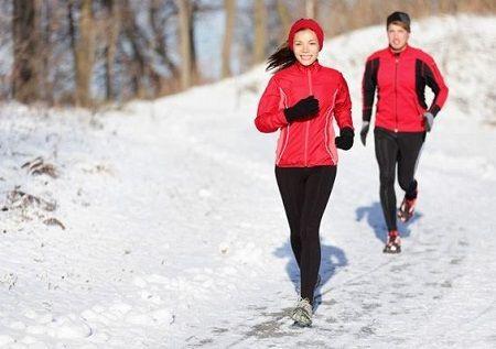 Correr con frio en invierno