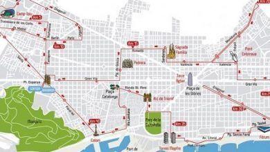 Recorrido del Maraton Barcelona 2015