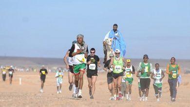 Photo of Recta final del Sahara Marathon 2015