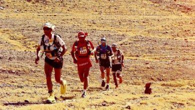 Chema Martínez en el Marathon des Sables