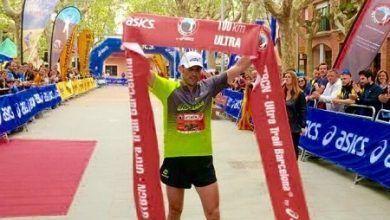 Jessed Hernández gana la Ultra Trail de Barcelona