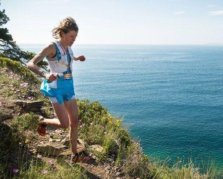 Laura Orgue en Trail Cap de Creus