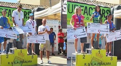 podium Gran Trail Peñalara