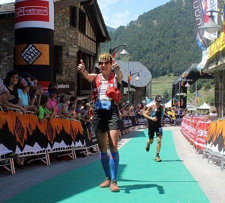 Nuria Picas ganando Marató dels Cims