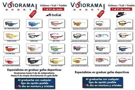 Promoción 50% en gafas graduadas en Visiorama