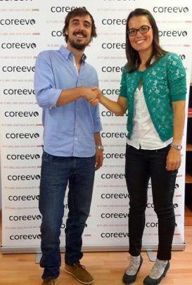 Firma del acuerdo Coreevo y Doñana Trail Marathon