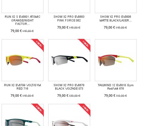 Rebajas en gafa deportiva