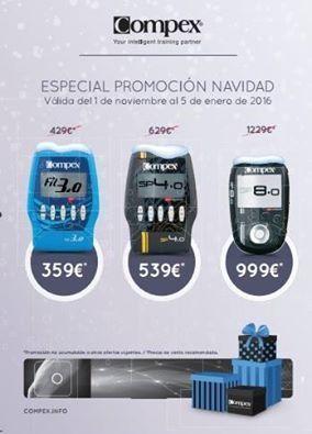 Promoción COMPEX NAVIDAD 2015