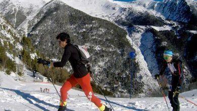 Kilian jornet en la Copa de esqui de montaña