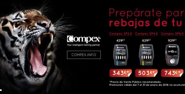 Rebajas COMPEX