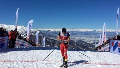 Kilian Jornet, campeón del Mundo esqui montaña vertical race