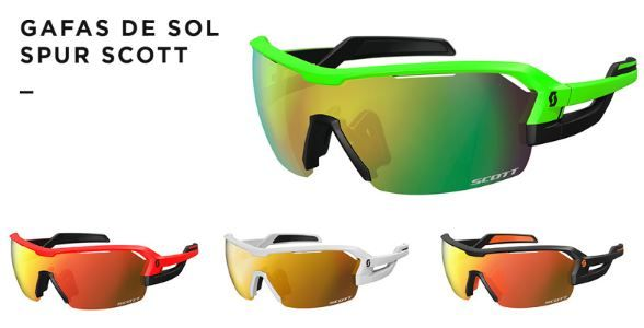 Gafas de Sol Spur Scott para Trail Running