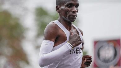 Photo of Eliud Kipchoge el primer hombre en bajar de las 2 horas en una maratón (1:59:40)